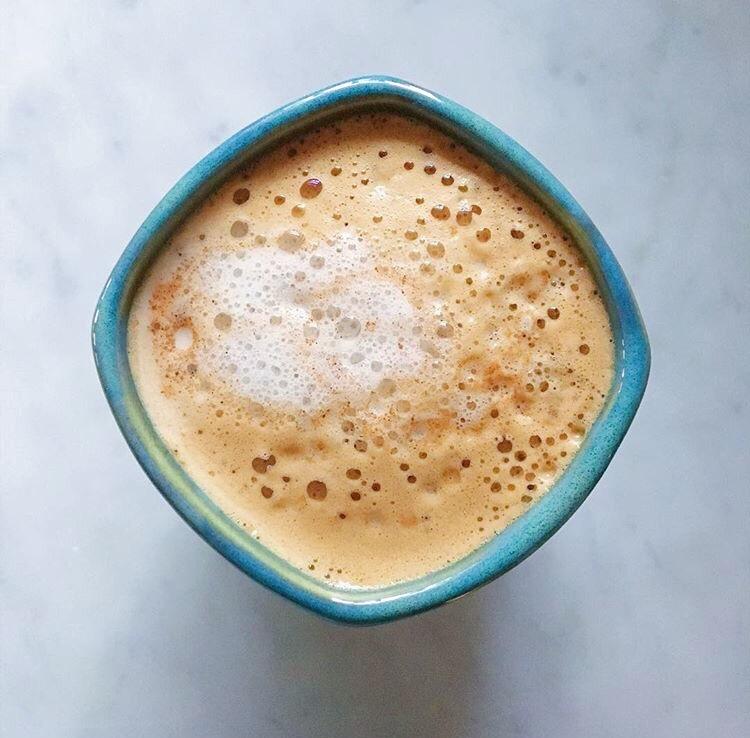 Spiced Peanut Butter Latte