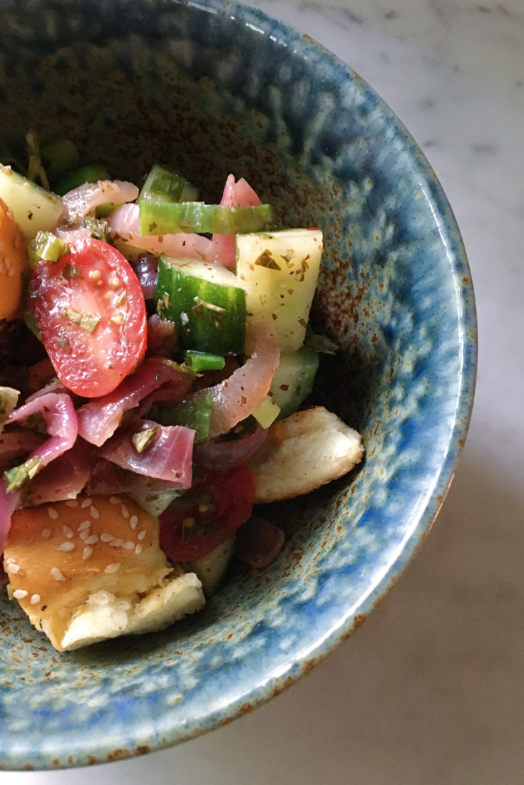 Tasty Moroccan Bread Salad
