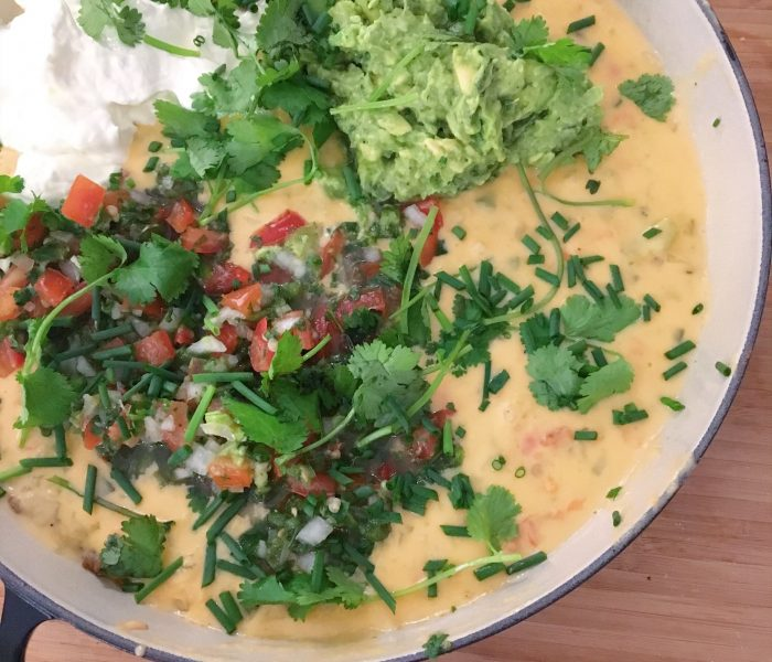 MAKE AHEAD MEAL: Creamy Queso