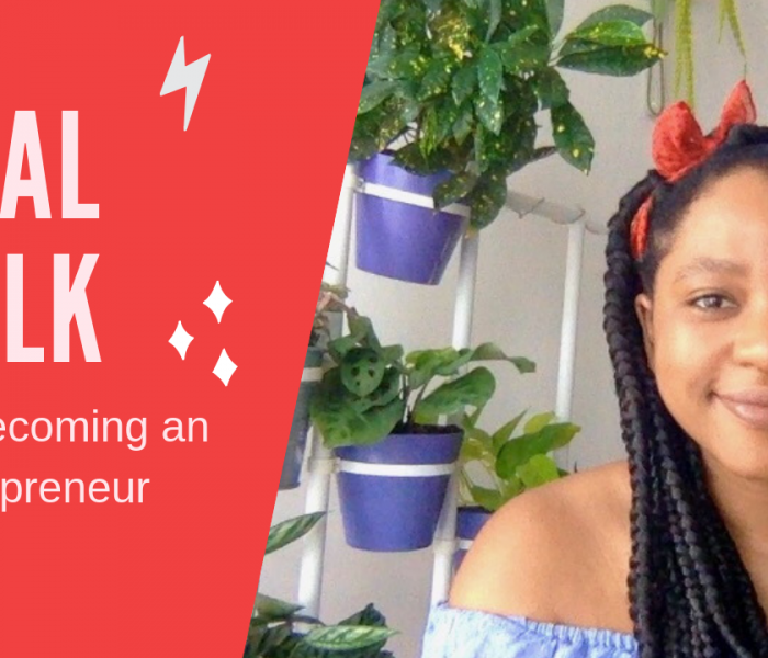 Becoming An Entrepreneur…it's time to get real
